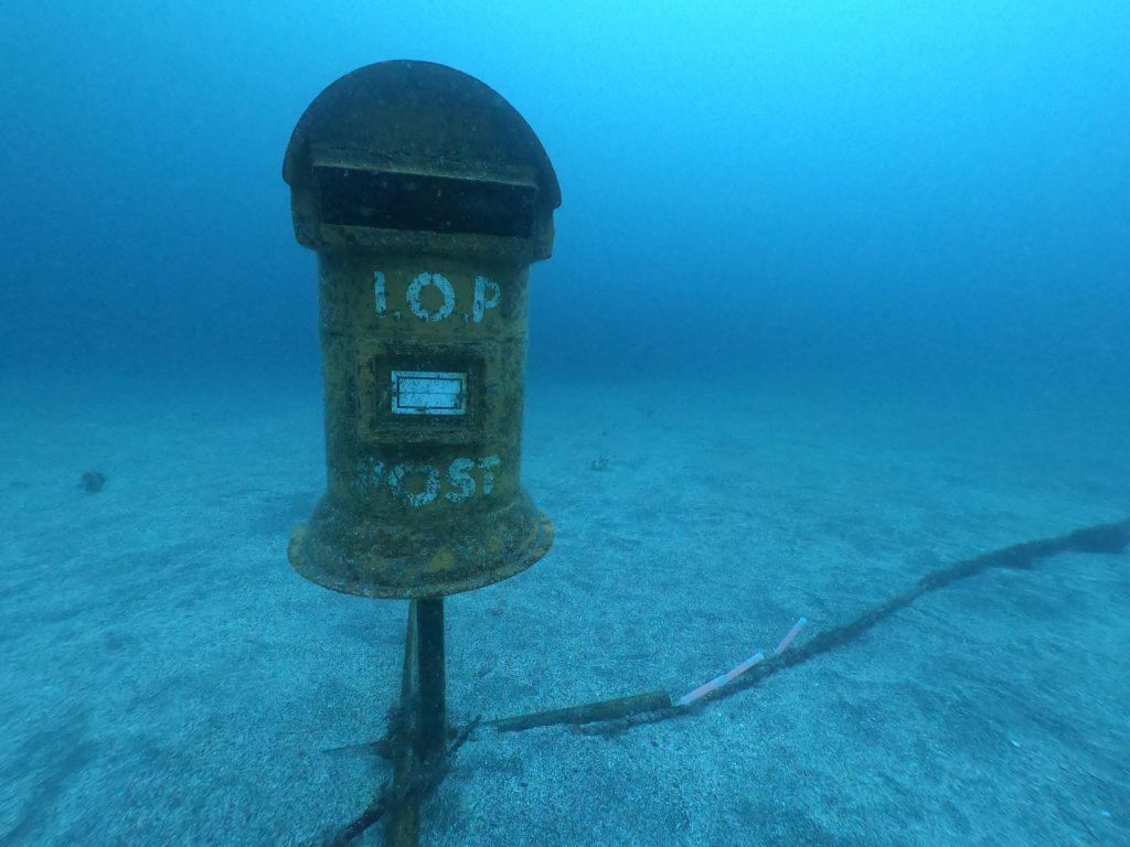 伊豆海洋公園の郵便ポスト